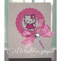 Invitaciones Hello Kitty, Presentación, 3 Años, Cumpleaños