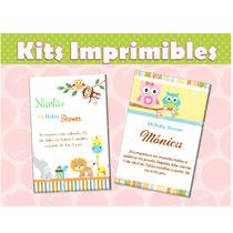 Kit Personalizo Baby Shower Listo Para Imprimir!