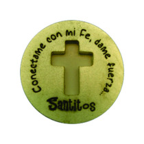 Moneda Milagrosa Cruz - Santitos