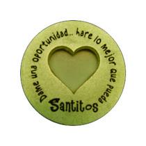 Paquete 15 Pzas Moneda Milagrosa Corazon - Santitos