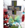 Centro De Mesa Set 3 Cajas Para Baby Shower Bautizo Comunion