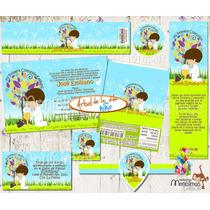 Invitaciones Primera Comunión Kit Imprimible Personalizado