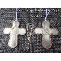 10 Cruces Con Pewter Para Recuerdo De Boda