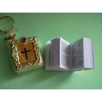 Llavero Biblia Recuerdo Comunión Bautizo Presentación Boda