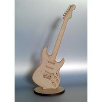 50 Figuras Guitarra Mdf Madera Country Recuerdito 25 Cms.