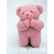 Ositos De Jabon Parece Peluche, Recuerdo Bautizo Cumpleaños