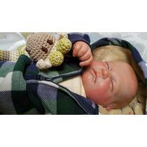 Bebe Muñeca Reborn 55 Centimetros Pintado A Mano