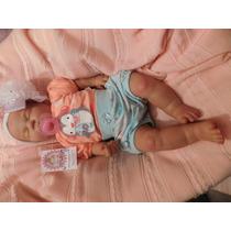 Bebe Reborn 54 Cm Pesa Aprox 2.8 Kg