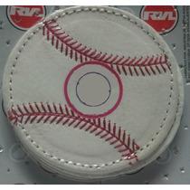 Porta Vasos Bordado Pelota De Beisbol Con Su Logo Preferido