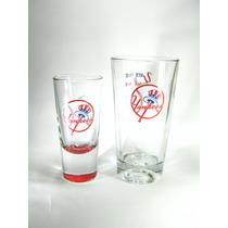Yankees Ny Mlb Juego 2 Vasos