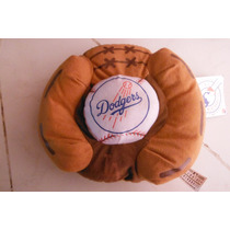 Peluche Guante & Pelota Angeles Dodgers Mlb Baseball Sports
