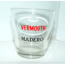 Vaso De Vidrio Vermouth Madero De Coleccion Años 60