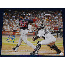 Fotografia Firmada Adrian Gonzalez Boston Red Sox Dodgers