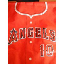 Maletin Jersey Anaheim Angels Oc Parks Mlb Baseball Sports