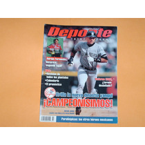 Revista Yankees De Nueva York Campeon Serie Mundial 2000