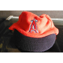 Gorrito Invierno Con Vicera Anaheim Angels Mlb Baseball Dq