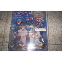 Mlb Starting Lineup Mike Piazza & Ivan Rodriguez 2pack
