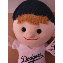 Peluche Kid Player Los Angeles Dodgers Mlb Baseball Sports