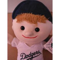 Peluche Kid Player Los Angeles Dodgers Mlb Baseball Sports