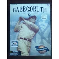 Beisbol Figura De Babe Ruth Sepia Edición Especial Mcfarlan