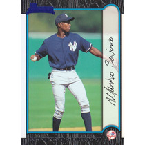 1999 Bowman Rookie Alfonso Soriano Yankees