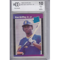 1989 Bccg 10 Donruss Rookie Ken Griffey Jr Mariners