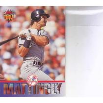 1994 Donruss Triple Play Don Mattingly Yankees