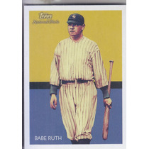 2010 Topps National Chicle Babe Ruth Of Yankees