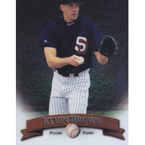 1998 Topps Finest No Protectors Kevin Brown P Padres