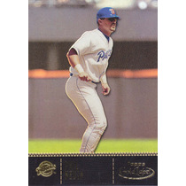 2001 Topps Gold Label Class 1 Phil Nevin 3b Padres