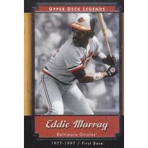 2001 Upper Deck Legends Eddie Murray Orioles