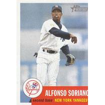2002 Topps Her Alfonso Soriano Yankees