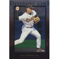 1996 Upper Deck Defensive Gems Cal Ripken Jr. Orioles