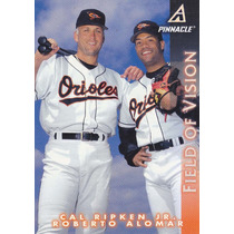 1997 Pinnacle Field Of Vision Cal Ripken Jr Roberto Alomar