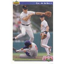 1992 Upper Deck Ripken Brothers Orioles