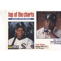 1998 Choice Top Tony Gwynn Frank Thomas