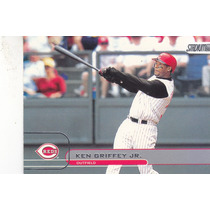 2002 Stadium Club Ken Griffey Jr. Reds