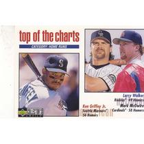 1998 Choice Top Charts Ken Griffey Jr Larry Walker