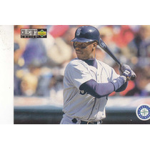 1996 Choice Team Checklist Ken Griffey Jr. Mariners