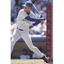 1997 Select Red Checklist Ken Griffey Jr. Mariners