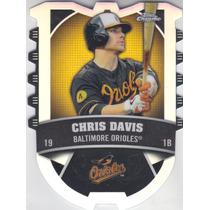 2014 Topps Chrome Connect Refractor Chris Davis Orioles