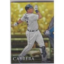 2014 Bowman Platinum Miguel Cabrera Gold 1b Tigers