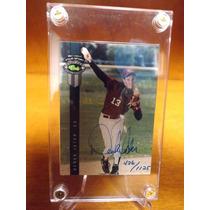 Derek Jeter Autografo Rookie Card 1992 Yankees New York