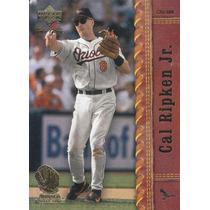 2001 Upper Deck Gold Glove Cal Ripken Jr. 3b Orioles