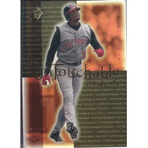 2001 Spx Untouchable Talents Ken Griffey Jr. Reds