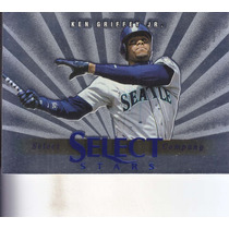 1997 Select Company Stars Blue Ken Griffey Jr. Mariners