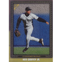 1998 Topps Gallery Exhibitions Ken Griffey Jr. Mariners