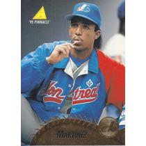 1995 Pinnacle Pedro Martinez P Expos