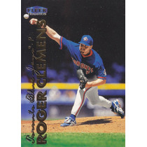 1999 Fleer Tradition Roger Clemens P Blue Jays