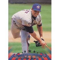 1998 Donruss Roger Clemens P Blue Jays